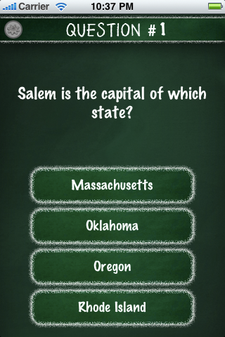 Screenshot Mega Trivia: US Capitals